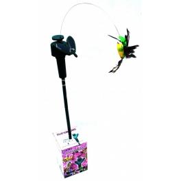 Zahradný solárny vtáčik - pohyblivá dekorácia