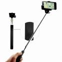 Teleskopická selfie tyč s Bluetooth spúšťou v rukoväti