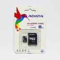 MicroSDHC karta 8GB s SD adaptérom