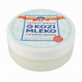 Kozí mléko tělové máslo 200 ml