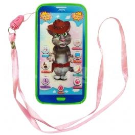Dětský telefon - TALKING TOM CAT