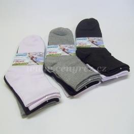 9x kvalitní bavlněné ponožky
