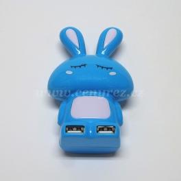 USB Hub - rozbočovač zajíček