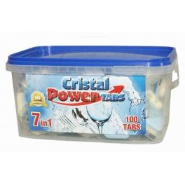 Cristal Power Tabs 7v1 - tablety do myčky 100 ks